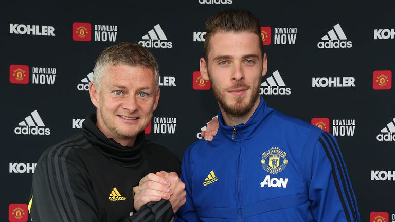 David de Gea has made 367 appearances for Manchester United