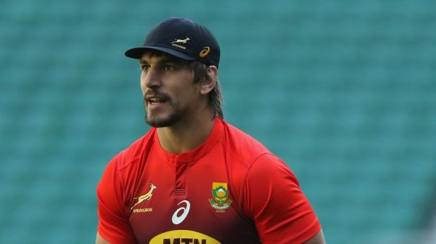 Eben Etzebeth has 79 caps for the Springboks