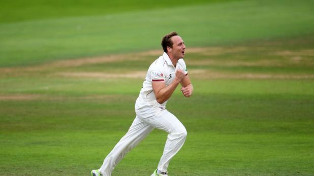 Josh Davey has taken 12 wickets in four County Championship matches this season