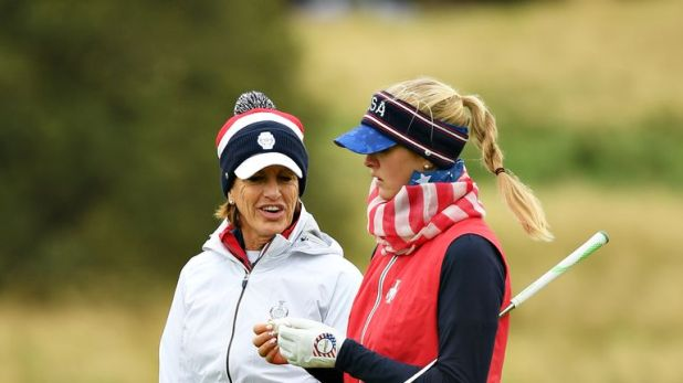 Jessica Korda missed Team USA's 2017 victory through injury