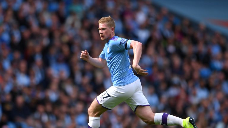 De Bruyne has four years left on his current City deal