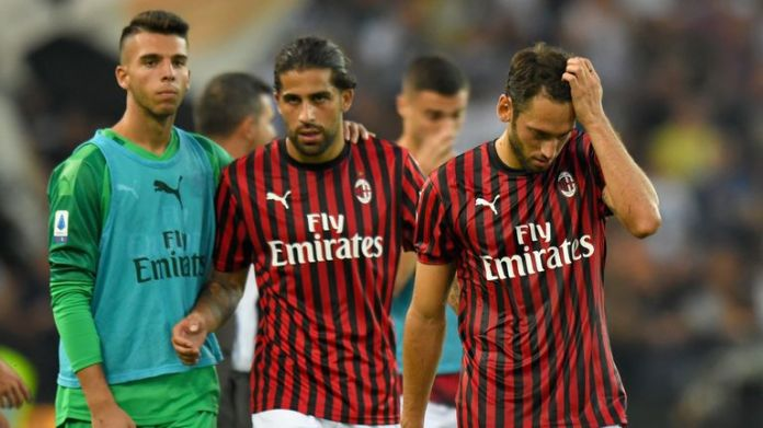 AC Milan have won just three of their opening seven Serie A matches this season