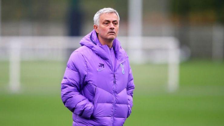 Mourinho no quiere que sus jugadores estén tristes en la derrota.