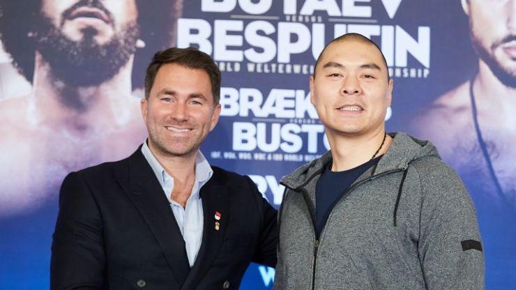 Fury vs Sour: Zhilei Zhang pretende hacer un 'Big Bang' siete años después de la pelea olímpica con Anthony Joshua | Noticias del boxeo 5