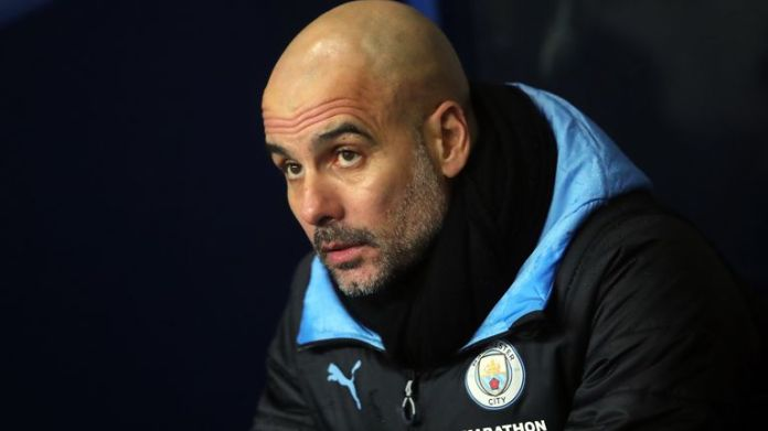 Pep Guardiola has said he is committed to Manchester City