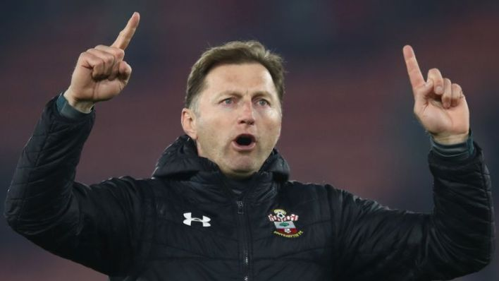 Hasenhuttl was appointed director of Southampton in December 2018