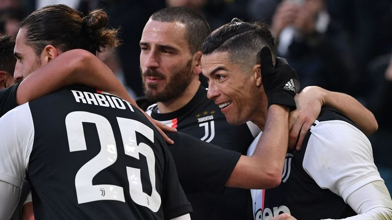 Ronaldo Hits Hat Trick For Juventus As Ibrahimovic's Return Fails To Lift Ac Milan