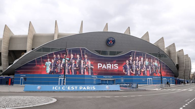 Ligue 1 clubs, such as Paris St Germain, have to play their European ties outside of France