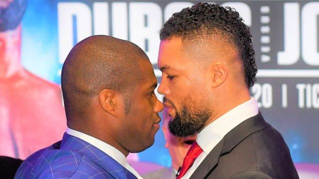 Joe Joyce and Daniel Dubois are set for an all-British showdown in October