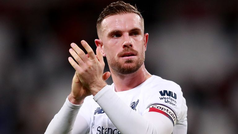 Liverpool captain Jordan Henderson was among the Premier League players to launch the fund