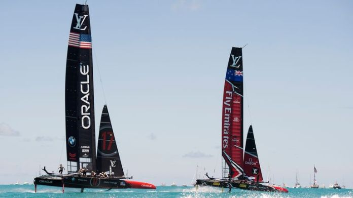 The 2017 edition of the America's Cup is held in Bermuda