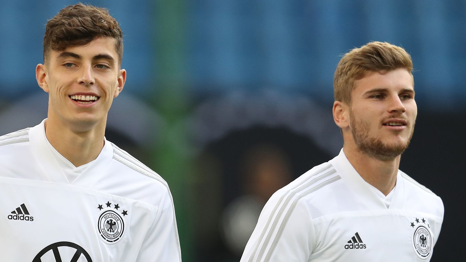Photo of Timo Werner and Kai Havertz are 'great', says Liverpool manager Jurgen Klopp