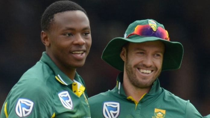 Kagiso Rabada and AB de Villiers will captain two of the three teams taking part in the Solidarity Cup