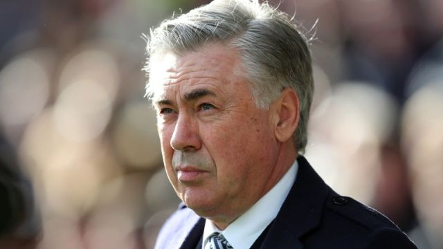 Carlo Ancelotti was appointed Everton manager in December