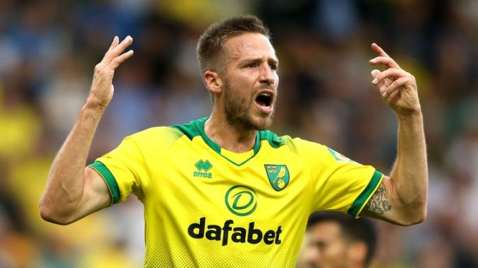 Marco Stiepermann of Norwich City has since registered two tests for coronavirus-negative