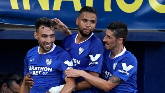 Munir El Haddadi earned Sevilla a point at Villarreal