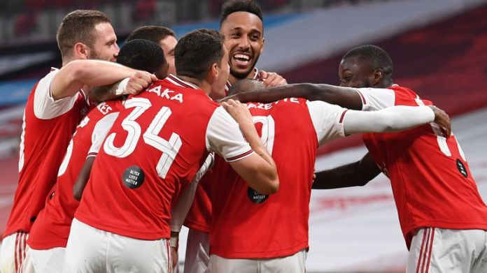 Arsenal have a series of away tests from the start