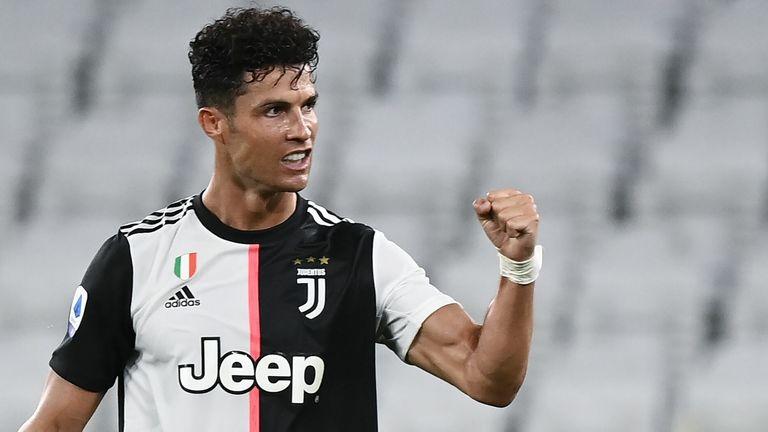 Cristiano Ronaldo a marqué le premier but alors que la Juventus battait la Sampdoria 2-0