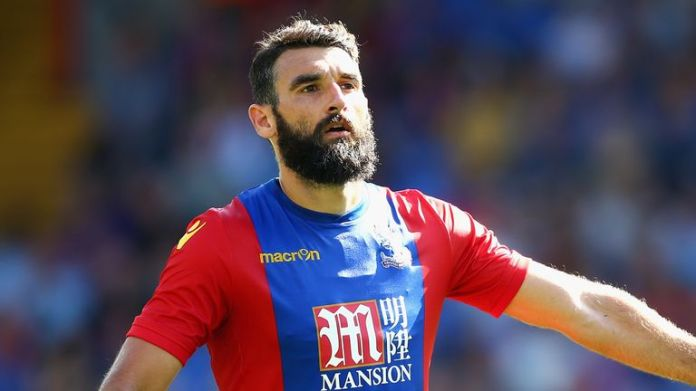 Mile Jedinak spent five seasons at Crystal Palace and was club captain between 2013 and 2016