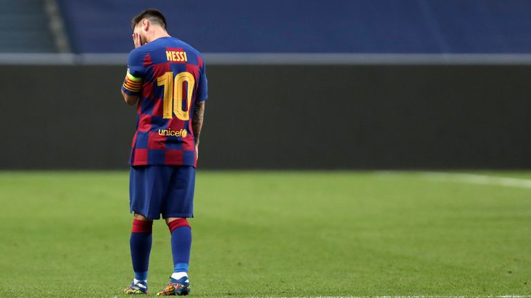 Would Messi be prepared to walkway from the club he's been at since the age of 13?