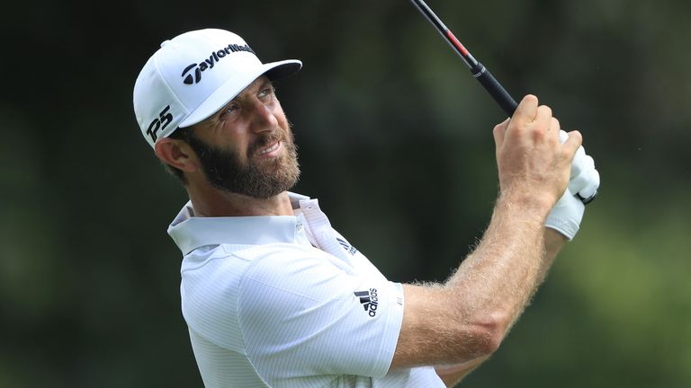 Johnson only found two fairways off the tee during his second round