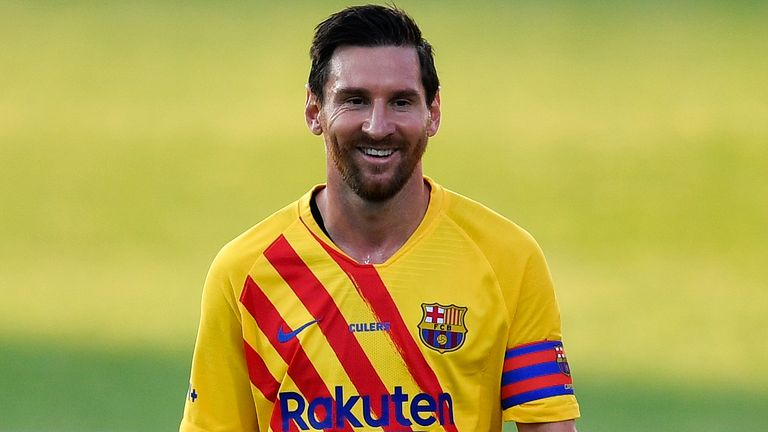 Lionel Messi was denied a move away from Barcelona this summer