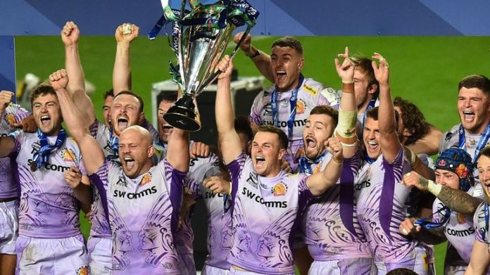 Exeter Chiefs are European champions for the first time