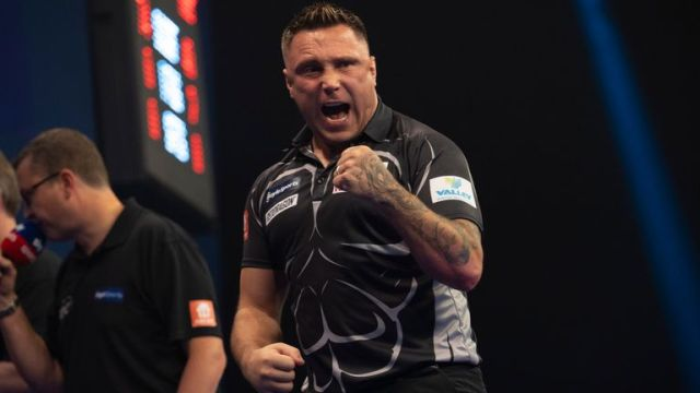 Gerwyn Price added the World Grand Prix to his major collection with victory over Dirk van Duijvenbode in Monday's final