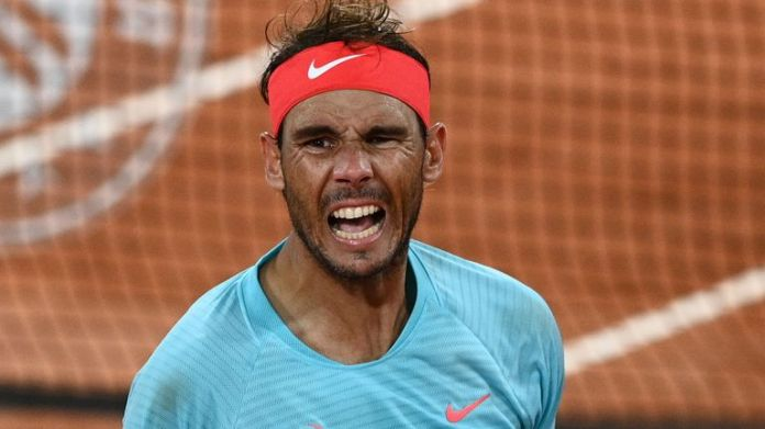 Rafael Nadal defeated 19-year-old Italian Jannik Sinner in a match that ended in the wee hours of Wednesday morning in Paris.