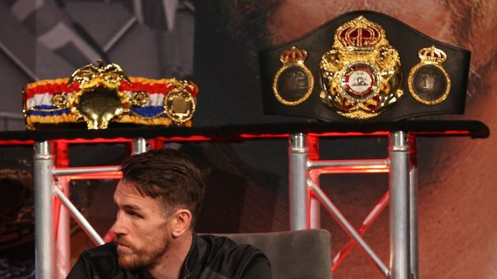Smith is the reigning WBA champion