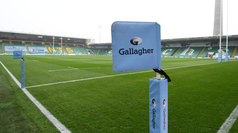 12 positive tests from five clubs were recorded in the latest round of Gallagher Premiership testing