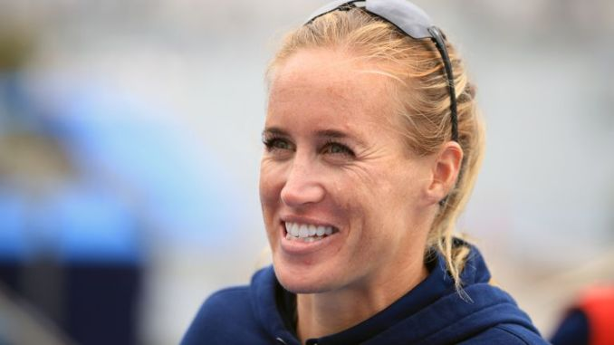 Helen Glover is continuing her comeback ahead of the Tokyo Games this summer