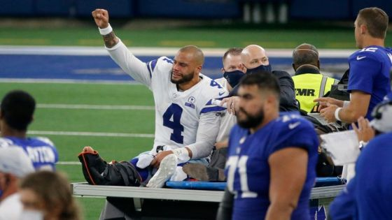 Cowboys quarterback Dak Prescott could be selected for second straight season if Dallas can't work out long-term contract (AP Photo / Michael Ainsworth, File)