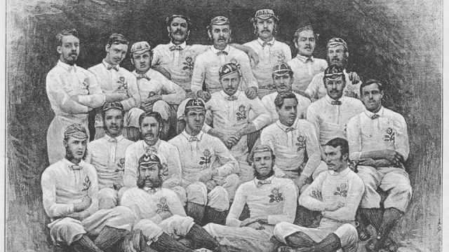The 1871 England rugby team