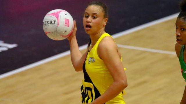 Laura Malcolm of Manchester Thunder (Image courtesy of Ben Lumley)
