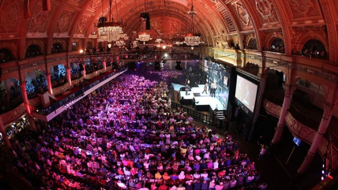 The PDC is hoping to accommodate a full house at the Winter Gardens, Blackpool in July