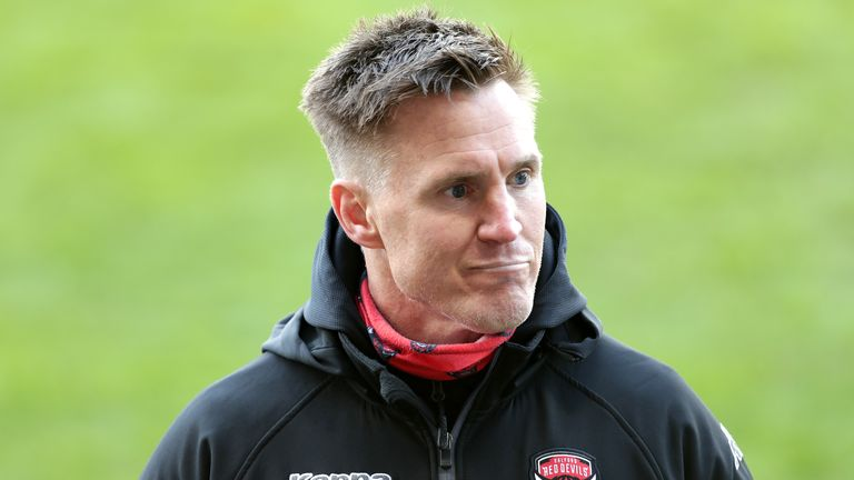 Richard Marshall is looking for better discipline from his Salford side