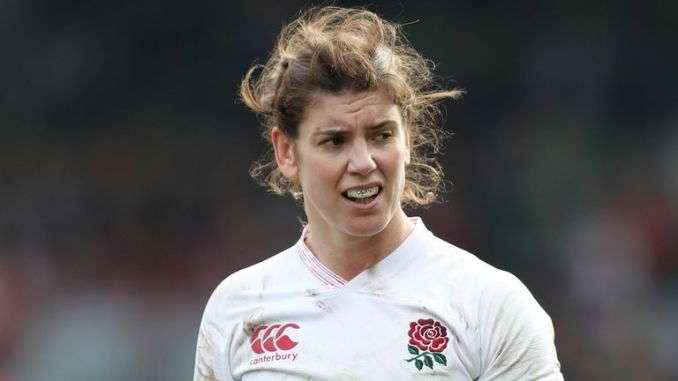 Sarah Hunter will miss England's Six Nations opener versus Scotland