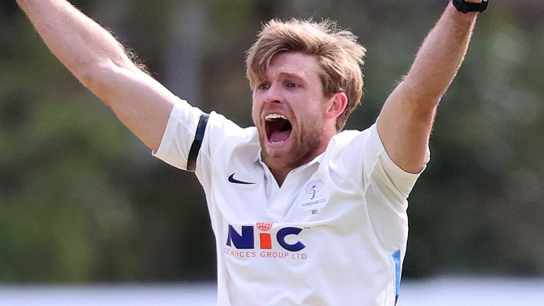 Yorkshire's David Willey picked up three wickets in their thrilling one-run victory over his former county Northamptonshire