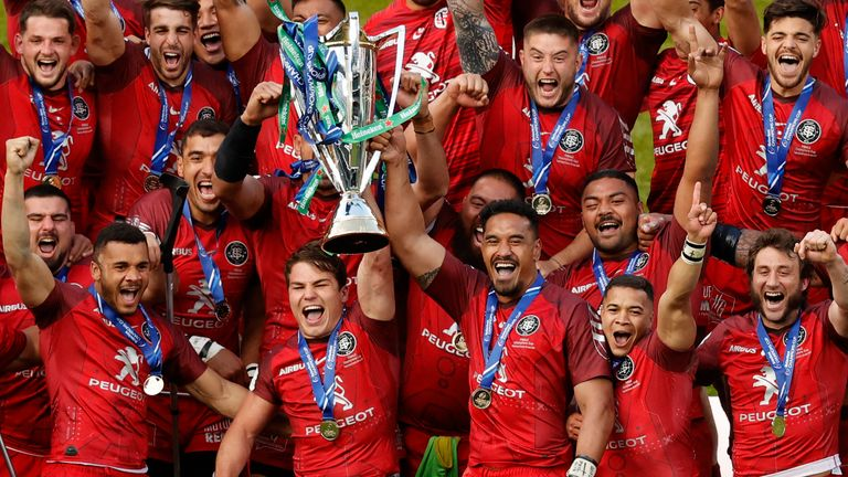 Toulouse clinched an historic fifth Heineken Champions Cup title with victory over La Rochelle
