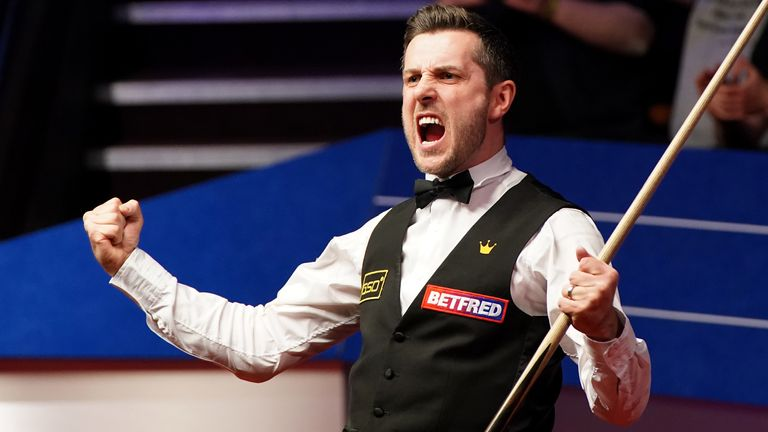 Selby is closing in on Ronnie O'Sullivan, Steve Davis and Ray Reardon as six-time winners of the tournament