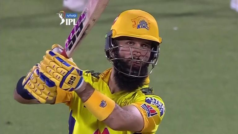 Moeen Ali's half-century came in vain for Chennai
