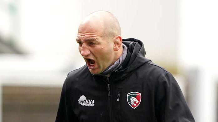 Leicester boss Steve Borthwick