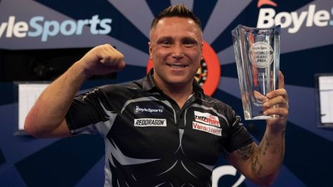 Gerwyn Price will be looking to defend his title