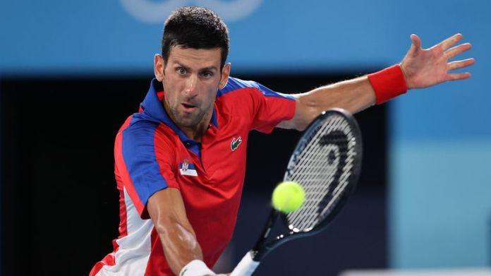 Djokovic couldn't be stopped as he progressed to the final four