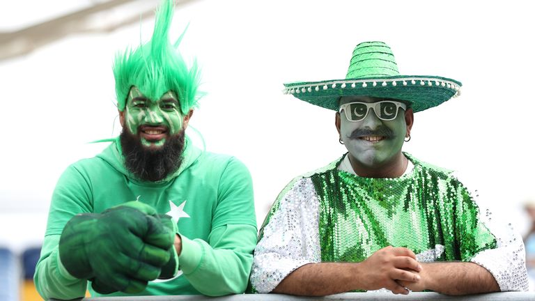 Pakistan fans were as passionate as ever at Lord's