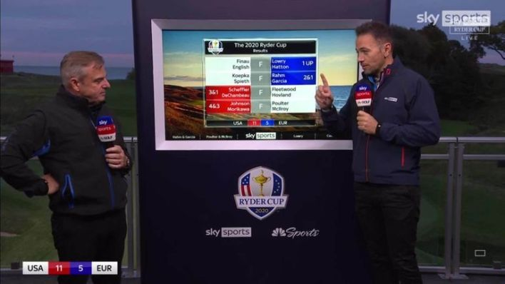 2014 Ryder Cup captain Paul McGinley and Nick Dougherty assess how Team Europe can overturn a six-point deficit in the Sunday singles at Whistling Straits
