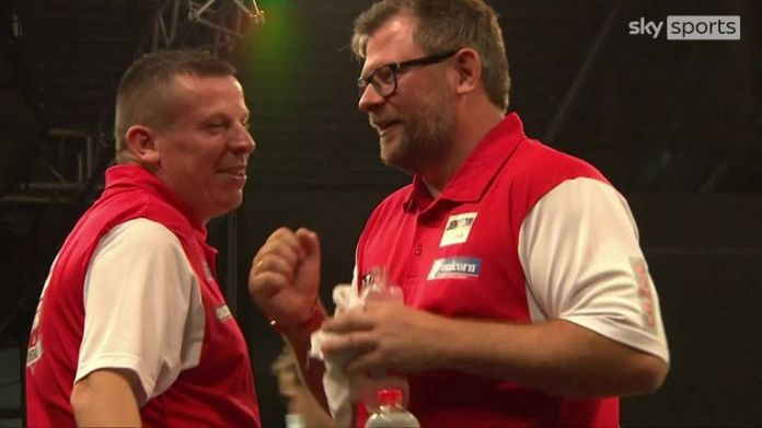 Northern Ireland just about edged past Hong Kong in the World Cup of Darts.