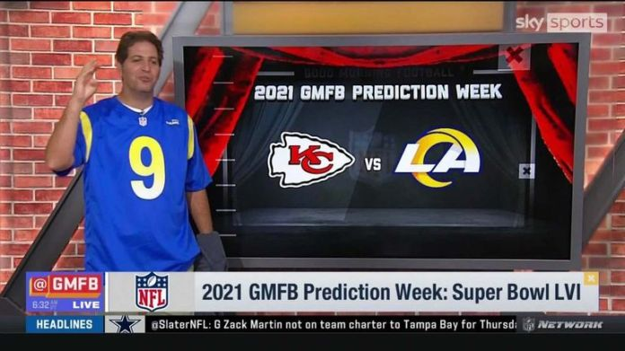Good Morning Football's Kay Adams, Peter Schrager, Mike Robinson and Kyle Brant all make their predictions on who they think will reach, and win, Super Bowl LVI this season.
