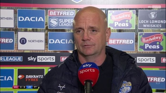 Leeds head coach Richard Agar was thrilled with their defensive resilience as they held Wigan scoreless in their Super League play-off eliminator.